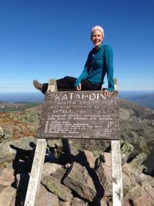 2,185.3 miles later on top of Mount Katahdin.