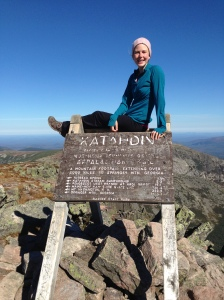 2,185.3 miles later on top of Mount Katahdin.
