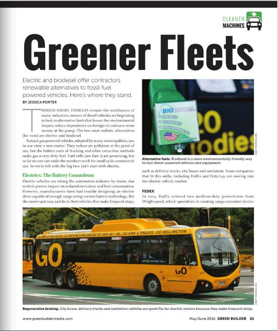 Greener Fleets