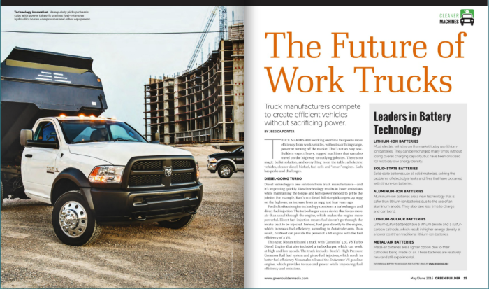 The Future of Work Trucks